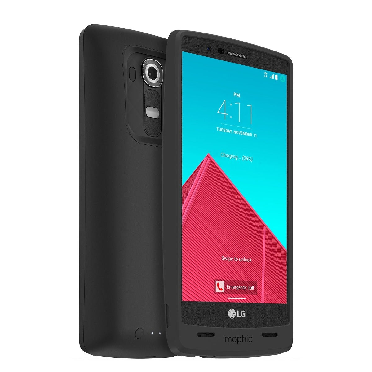juice pack - LG G4 - Black
