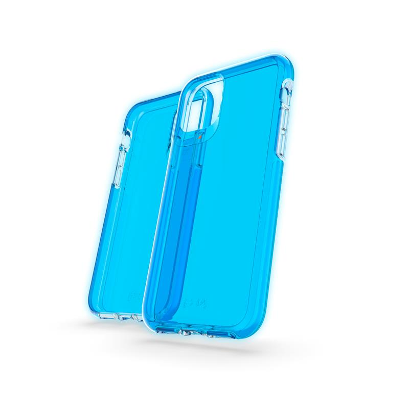 Crystal Palace iPhone 11 Pro (Neon Blue)