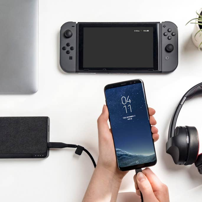 Universal Compatibility  Connect any USB device to stay fully charged ready to go