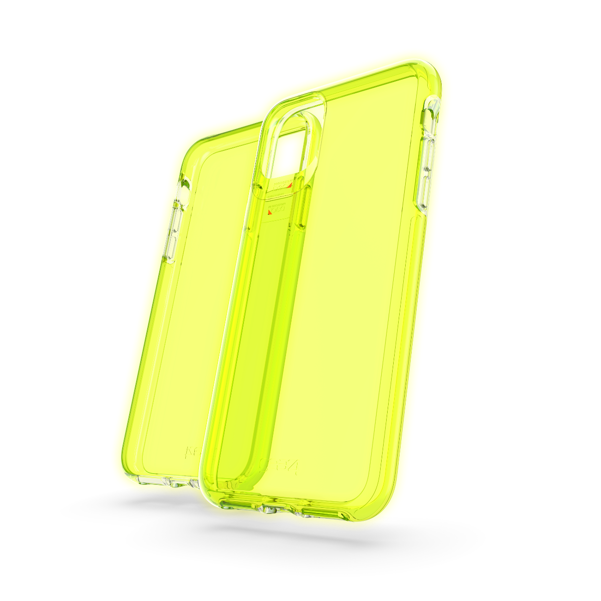 Crystal Palace iPhone 11 Pro Max (Neon Yellow)