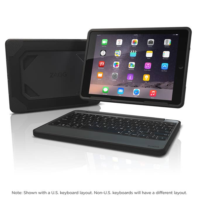 Rugged Book Ipad Air 2 Case With Keyboard Zagg