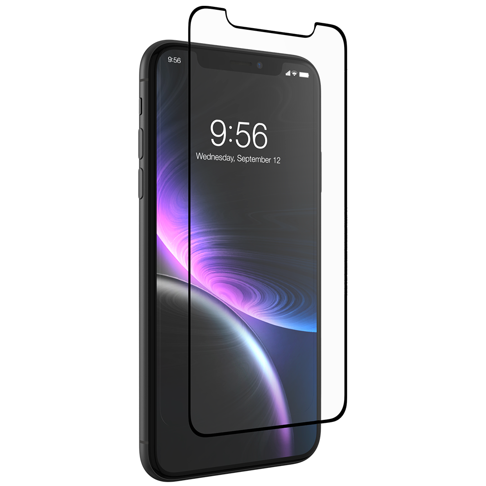 InvisibleShield Glass+ Anti-Glare for the Apple iPhone XR (Case Friendly)