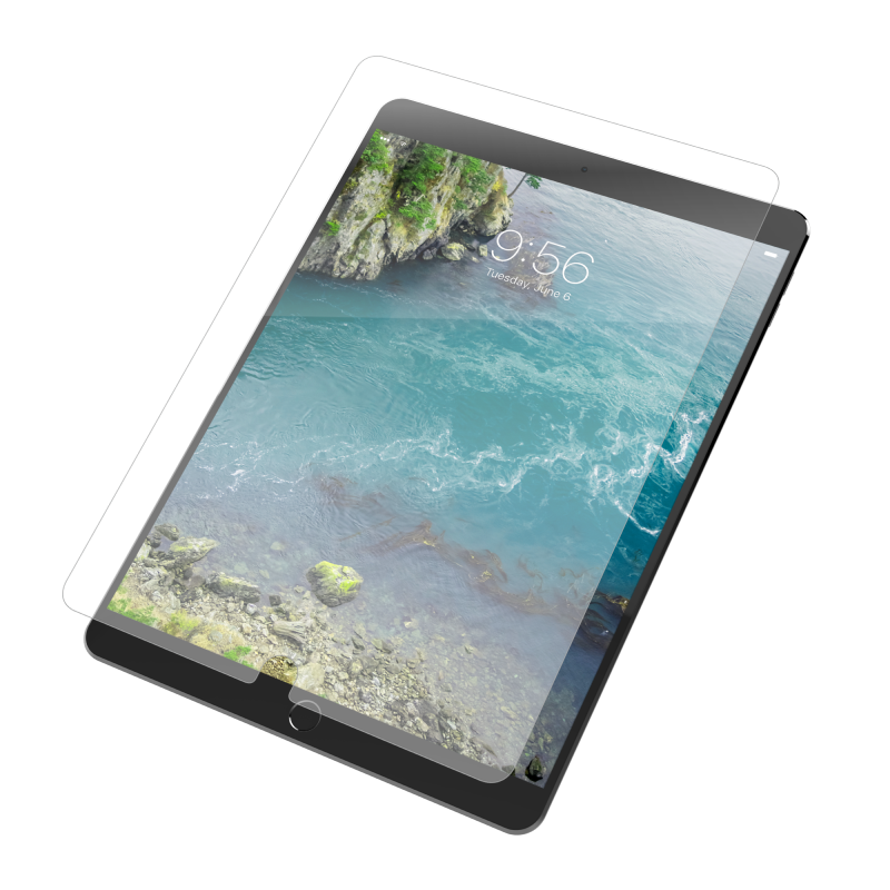 InvisibleShield Glass+ VisionGuard for the Apple 9.7-inch iPad (Case Friendly)