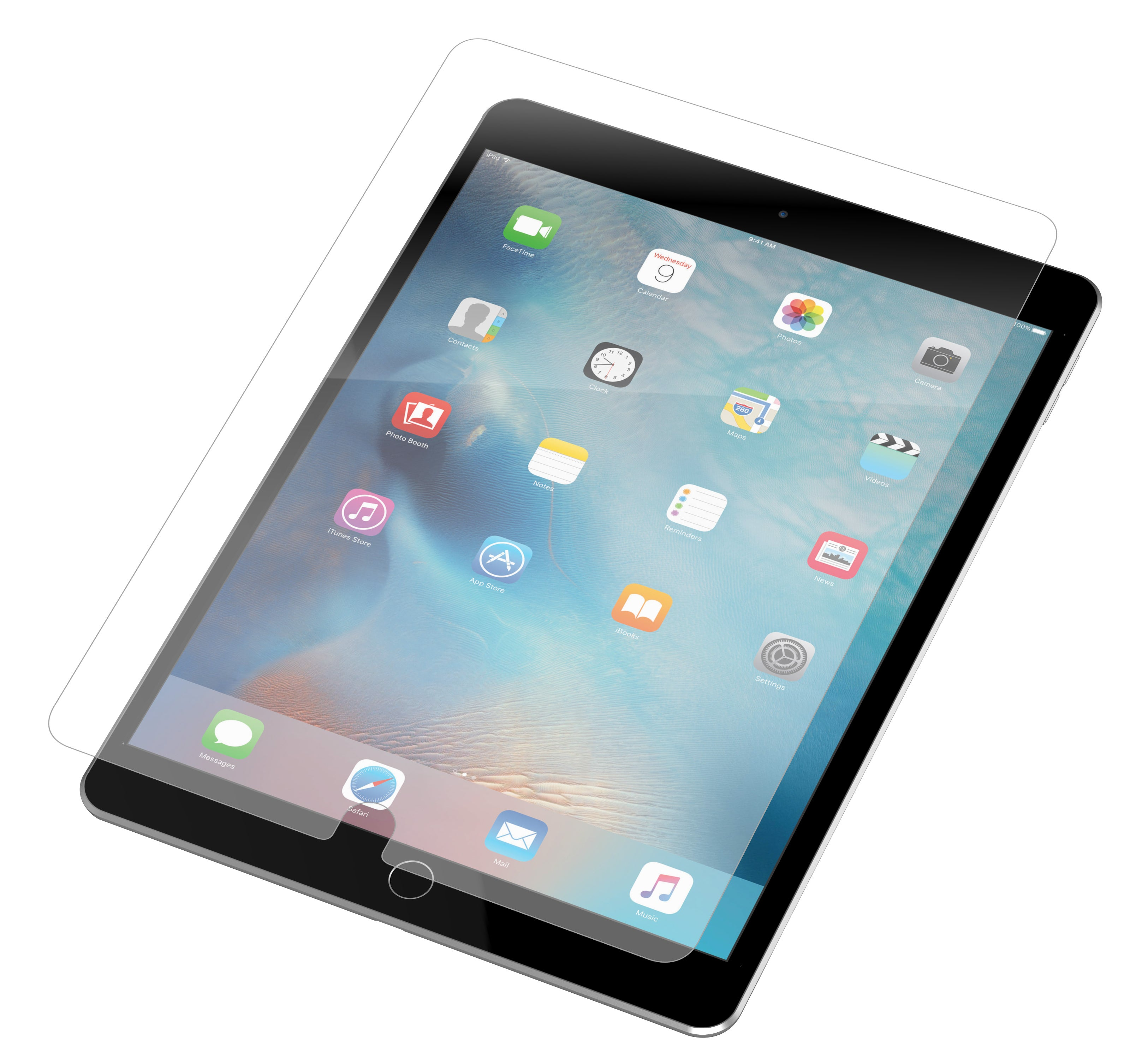 Image of InvisibleShield HDX for the Apple iPad Air/Air 2
