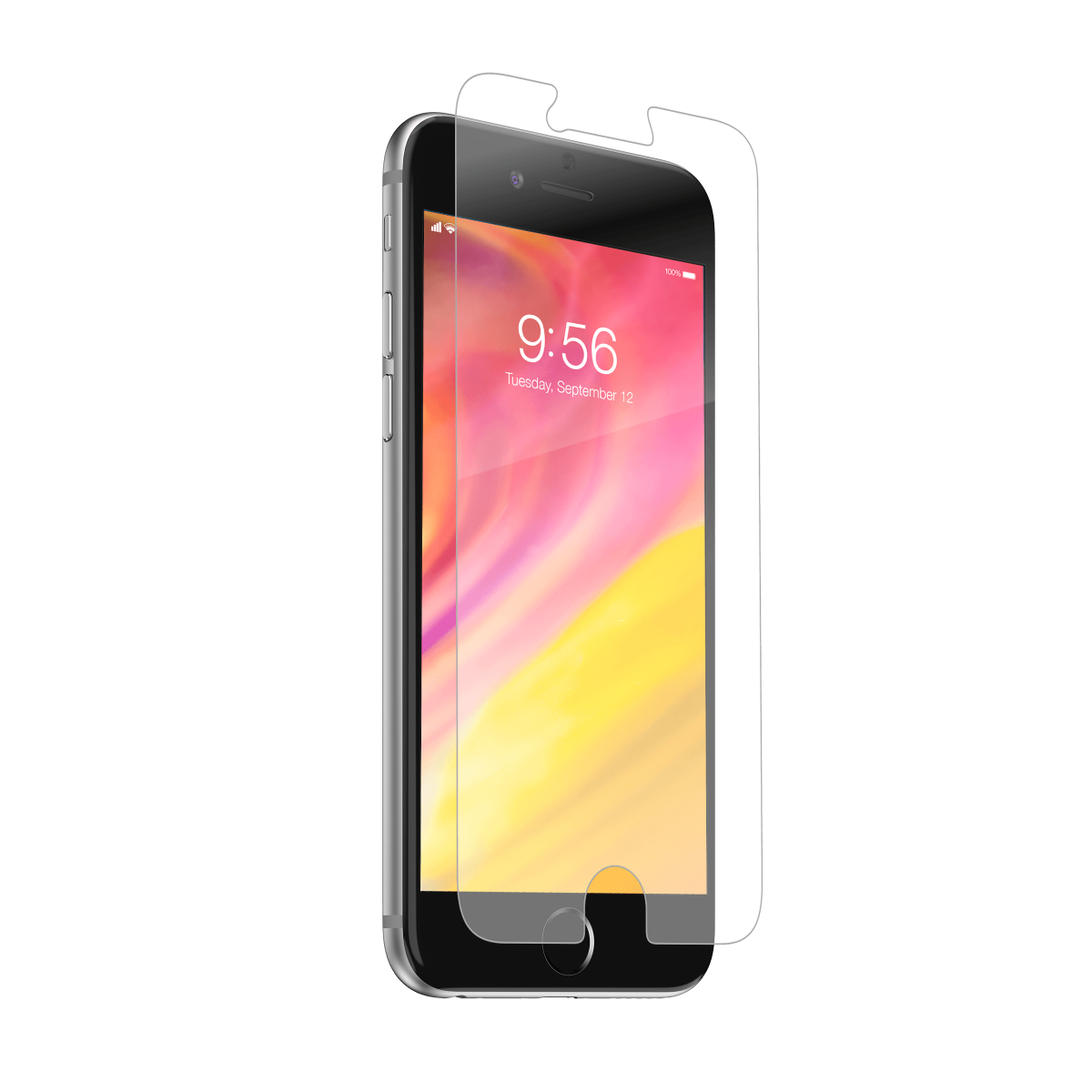 InvisibleShield Glass+ for the Apple iPhone 6/6s/7/8 (Case Friendly)