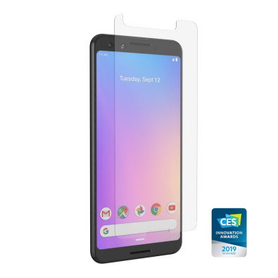 InvisibleShield Glass+ VisionGuard for the Google Pixel 3 (Case Friendly)
