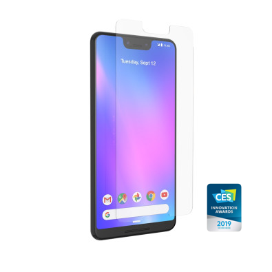 InvisibleShield Glass+ VisionGuard for the Google Pixel 3 XL (Case Friendly)