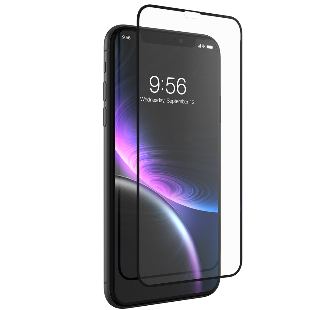 InvisibleShield Glass+ Luxe for the Apple iPhone XR (Case Friendly)