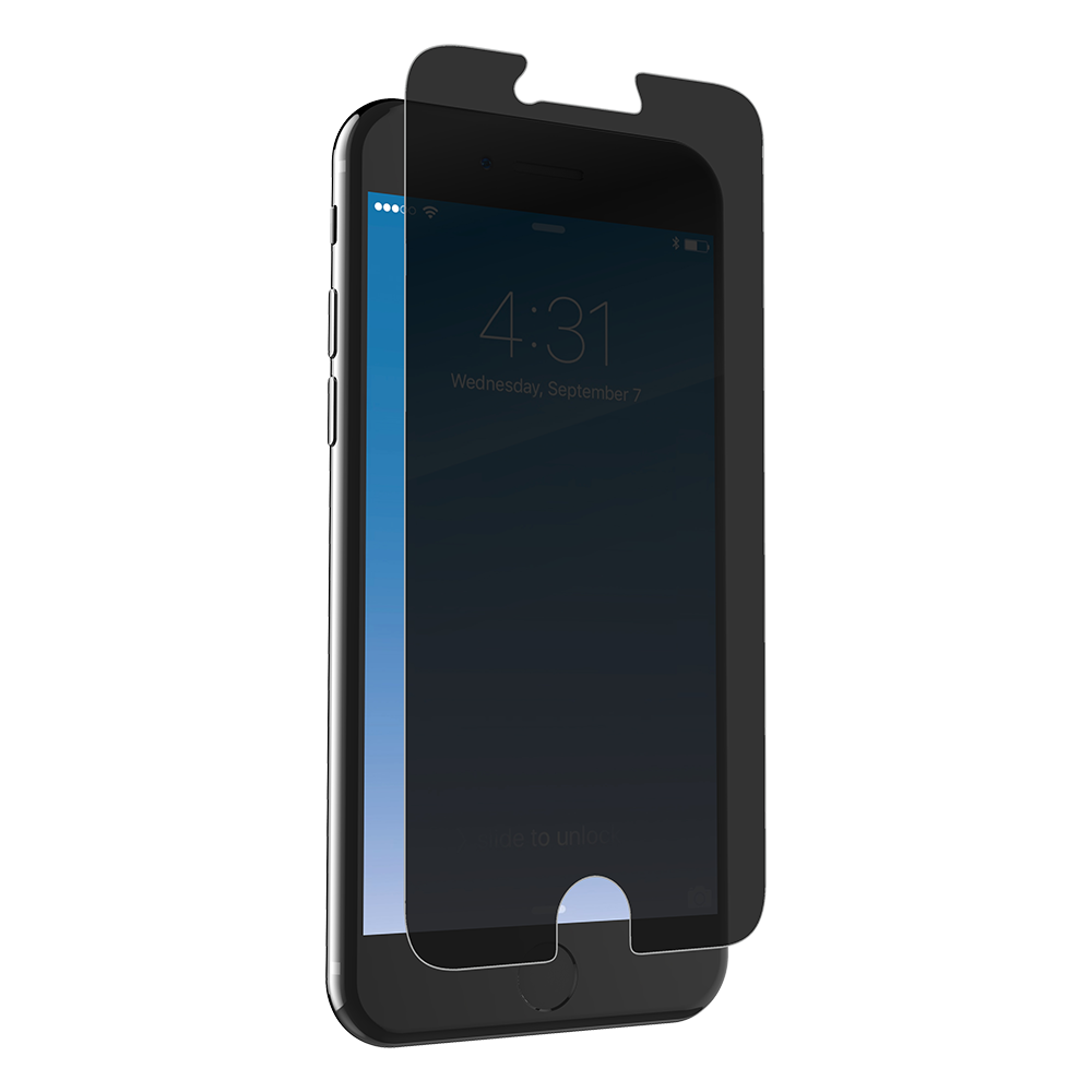 Glass+ Privacy for the Apple iPhone 6/6s/7/8 (Case Friendly)