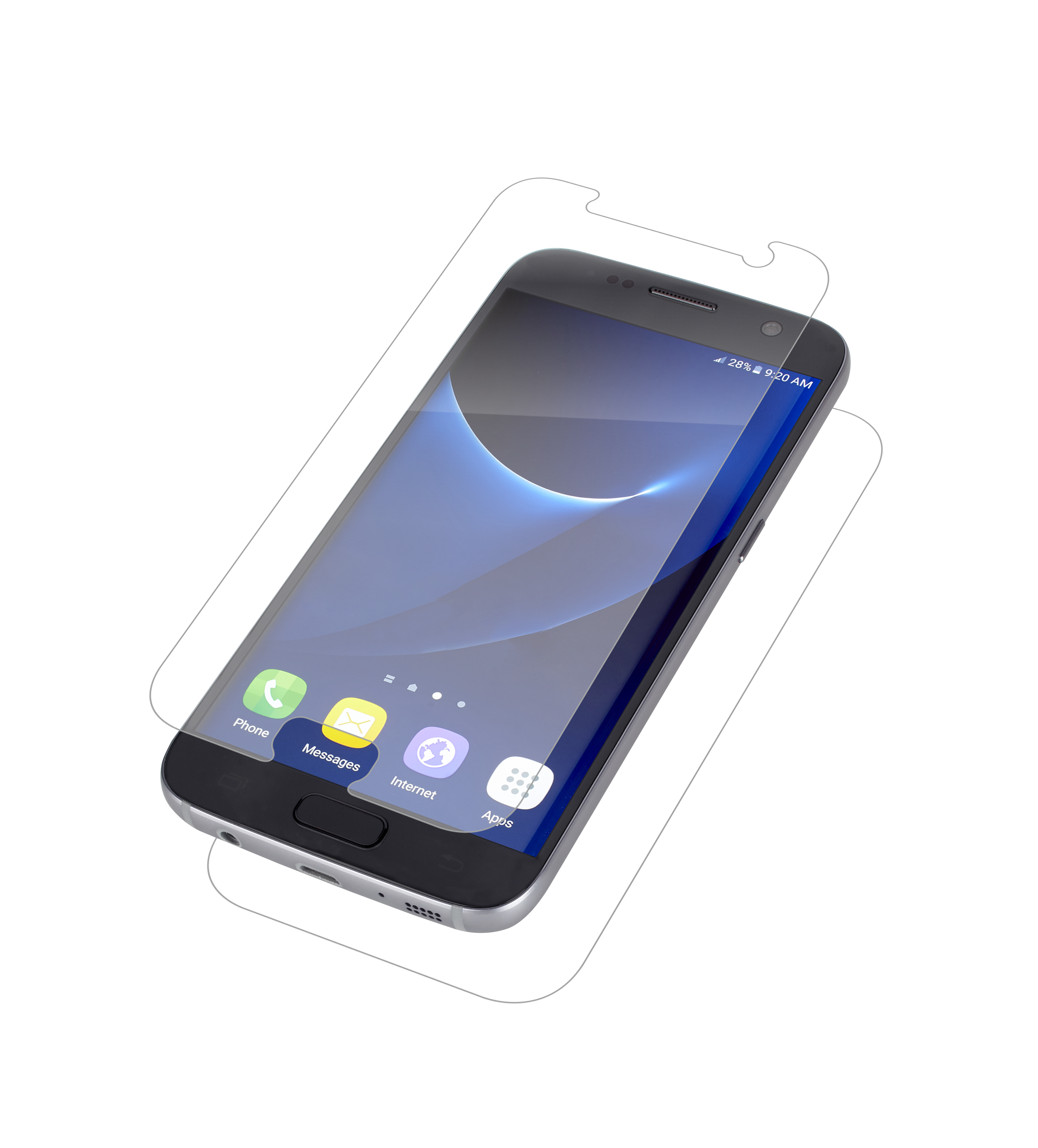 InvisibleShield HD Dry for the Samsung Galaxy S7