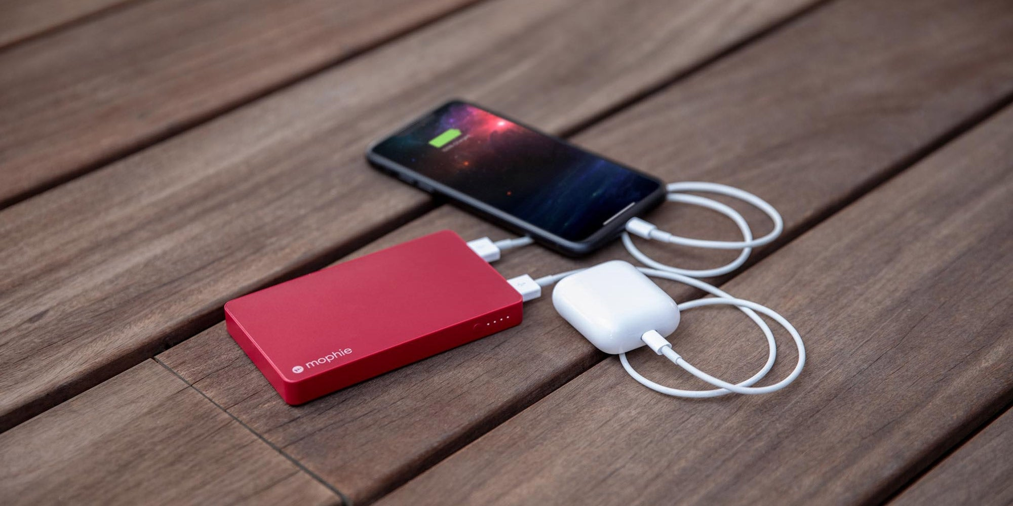 mophie powerstation charging multiple devices
